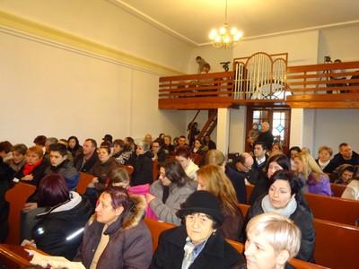 Gyülekező advent 4. vasárnapján az istentisztelet előtt