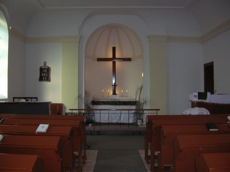 Templom belső tere - big