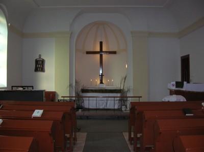 Templom belső tere